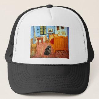 Room - Persian Calico cat Trucker Hat