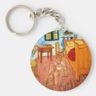 Room - Red Abyssinian Keychain
