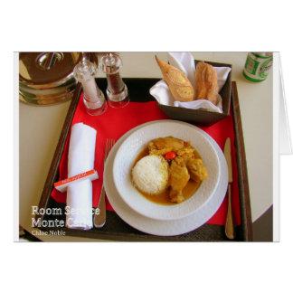 Room Service - Monte Carlo Card