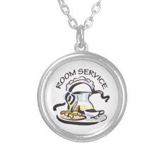 ROOM SERVICE PERSONALIZED NECKLACE