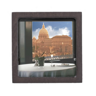 Room with a view decorative photograph urban livin jewelry box