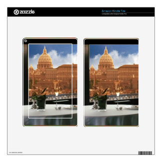 Room with a view decorative photograph urban livin kindle fire decal