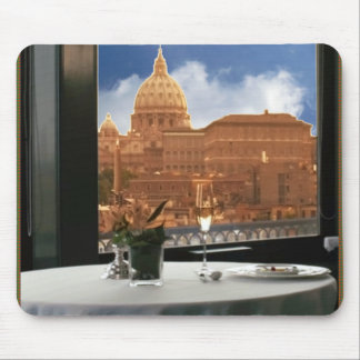 Room with a view decorative photograph urban livin mouse pad