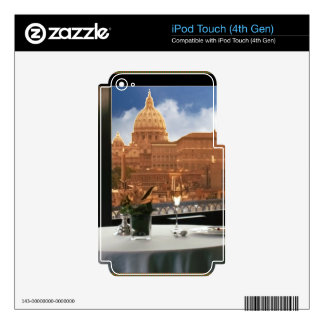 Room with a view decorative photograph urban livin iPod touch 4G skin