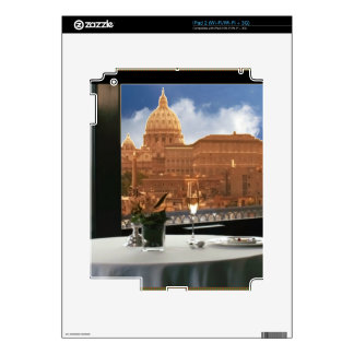 Room with a view decorative photograph urban livin decals for the iPad 2