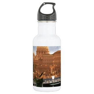 Room with a view decorative photograph urban livin water bottle