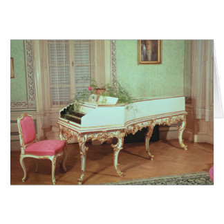 Room with the harpsichord card