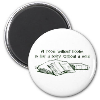Room Without Books Magnet