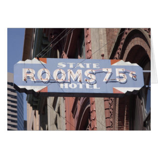 Rooms 75 Cents Greeting Card