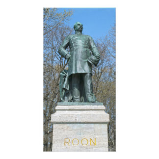Roon Statue in Berlin Card