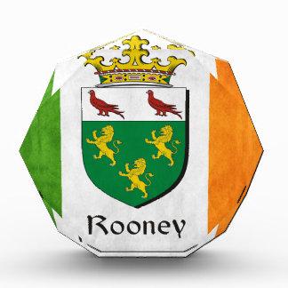Rooney Irish Flag Acrylic Award