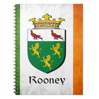 Rooney Irish Flag Notebook