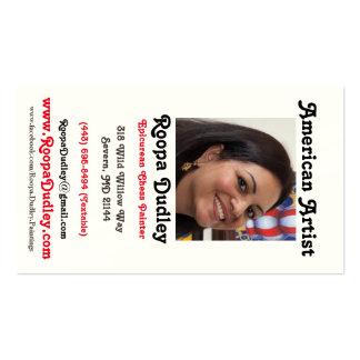 Roopa Dudley Artist Card