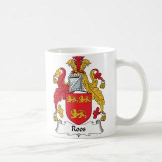 Roos Family Crest Coffee Mug