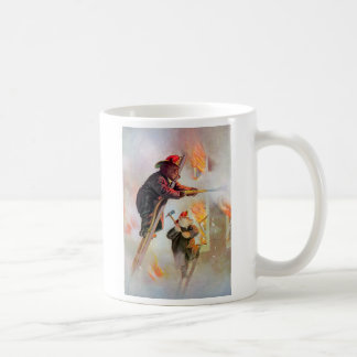 Roosevelt Bear Firefighters Coffee Mug