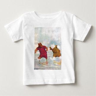 Roosevelt Bears at Atlantic City Beach Baby T-Shirt