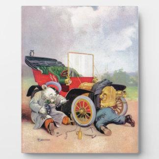 Roosevelt Bears Car Mechanics. Plaques