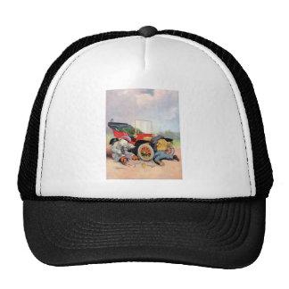 Roosevelt Bears Car Mechanics. Trucker Hat