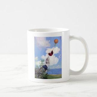 Roosevelt Bears Descend from Hot Air Ballon Coffee Mug