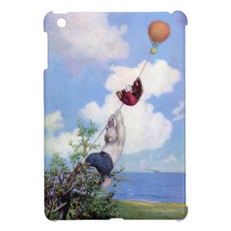 Roosevelt Bears Descend from Hot Air Ballon iPad Mini Cover