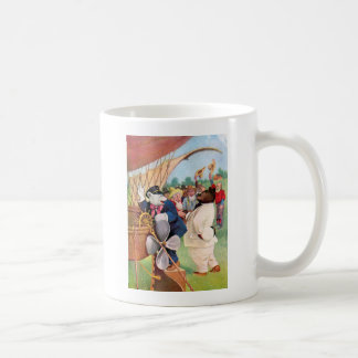 Roosevelt Bears Fly in  Hot Air Balloon Coffee Mug