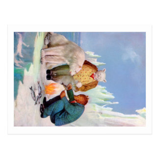Roosevelt Bears Go Fishing In Alaska Postcard