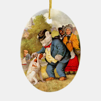 Roosevelt Bears Old Mother Hubbard Her Dog Ornaments