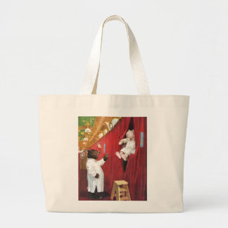 Roosevelt Bears on a Train in the Sleeping Car Tote Bag