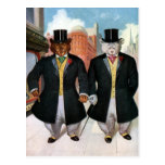 Roosevelt Bears On the Town In New York Postcards
