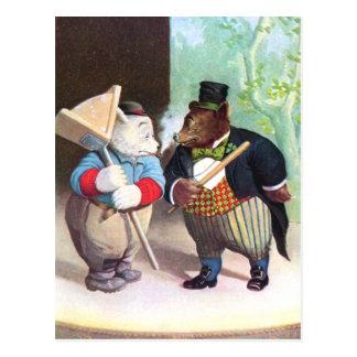 Roosevelt Bears on the Vaudeville Stage Postcard