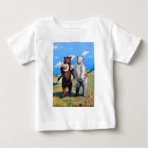 Roosevelt Bears Out in the American West Baby T-Shirt