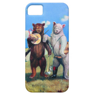 Roosevelt Bears Out in the American West iPhone SE/5/5s Case