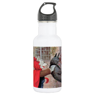 Roosevelt Bears Play Little Red Riding Hood Stainless Steel Water Bottle