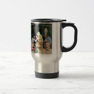 Roosevelt Bears Ride on a Train Travel Mug