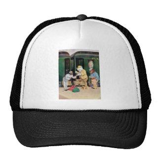 Roosevelt Bears Ride on a Train Trucker Hat