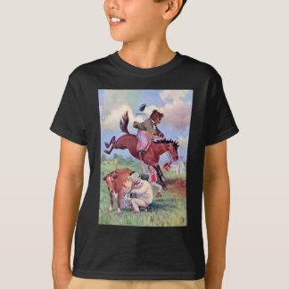 Roosevelt Bears Riding Rodeo Horses T-Shirt