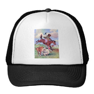 Roosevelt Bears Riding Rodeo Horses Trucker Hat