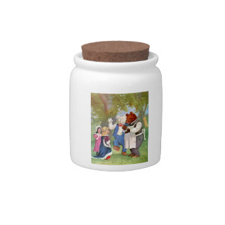 Roosevelt Bears With The Fairy Tale Princesses Candy Jars