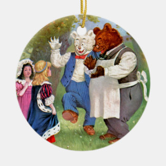 Roosevelt Bears With The Fairy Tale Princesses Christmas Ornament