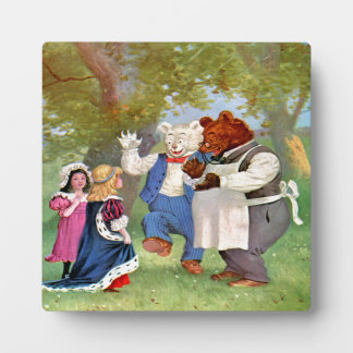 Roosevelt Bears With The Fairy Tale Princesses Plaque