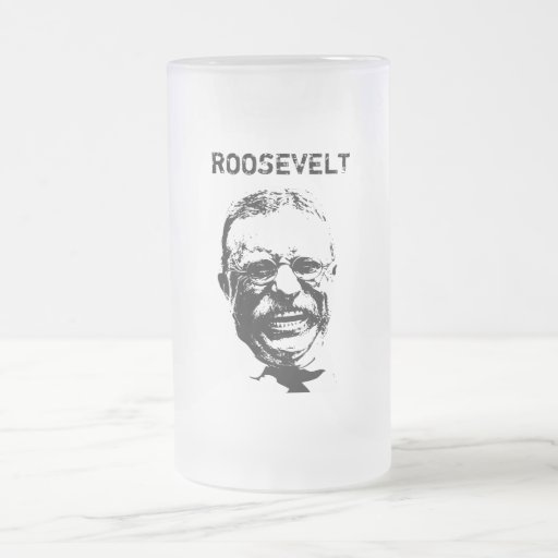 Roosevelt -- Black and White Mugs