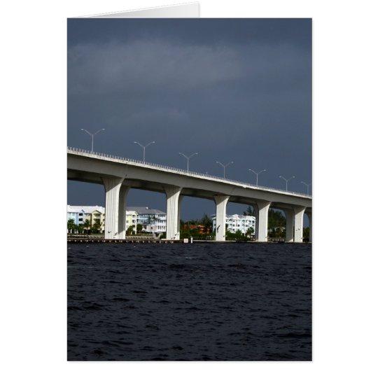 Roosevelt Bridge Jensen Beach Florida Photo Card