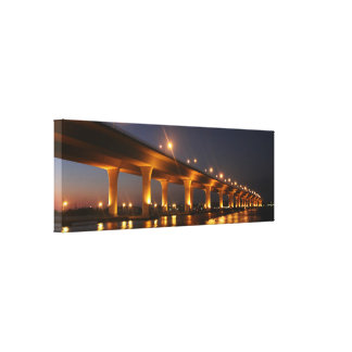 Roosevelt Bridge, Stuart Florida CUSTOM ORDER Canvas Print