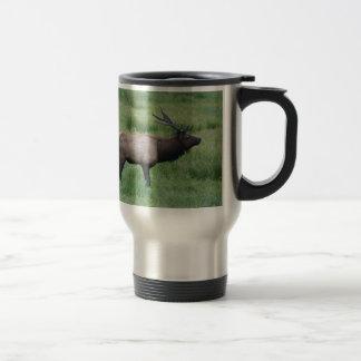 Roosevelt Bull Elk Travel Mug