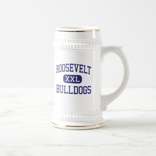 Roosevelt Bulldogs Middle River Forest 18 Oz Beer Stein