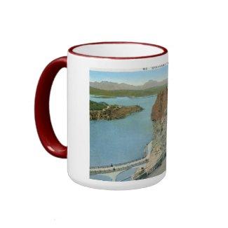 Roosevelt Dam, Arizona Vintage Mugs