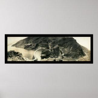 Roosevelt Dam AZ Photo 1913 Poster