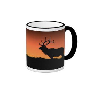 Roosevelt Elk Ringer Mug