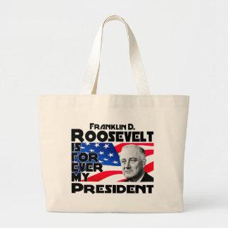 Roosevelt, F Forever Large Tote Bag