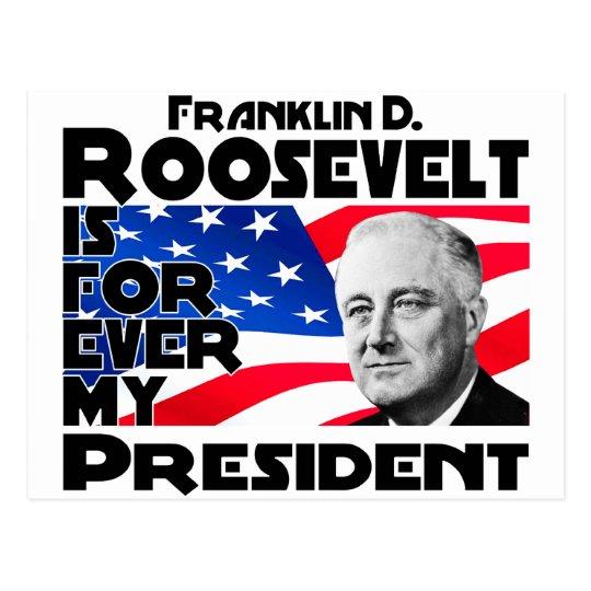Roosevelt, F Forever Postcard